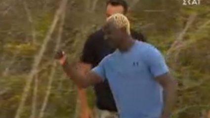 Οι πρώτες στιγμές του Πάτρικ Ογκουνσότο στο Survivor (ΒΙΝΤΕΟ)