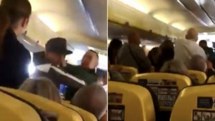 Eπιβάτες έπαιξαν ξύλο σε πτήση της Ryanair για μια γυναίκα (ΒΙΝΤΕΟ)