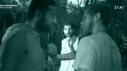 Survivor 3: Επεισόδιο με σπρωξίματα και βρισιές – ΒΙΝΤΕΟ
