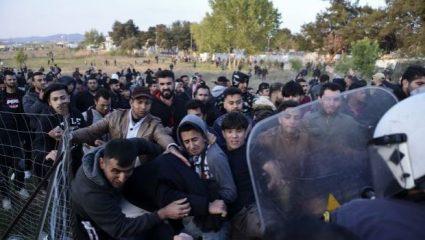 Από φήμη στο διαδίκτυο ότι θα ανοίξουν τα σύνορα άρχισαν τα επεισόδια στα Διαβατά