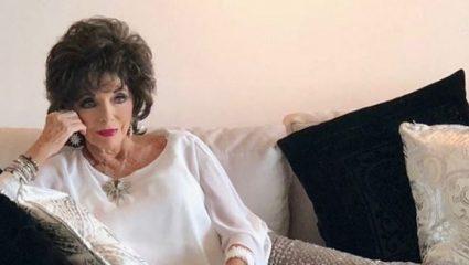 Φωτιά στο διαμέρισμα της Τζόαν Κόλινς – Με αναπνευστικά προβλήματα η διάσημη ηθοποιός – ΒΙΝΤΕΟ