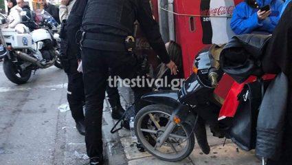 Θεσσαλονίκη: Άνδρας πέταξε τη σύζυγό του από το αυτοκίνητο! – ΦΩΤΟ