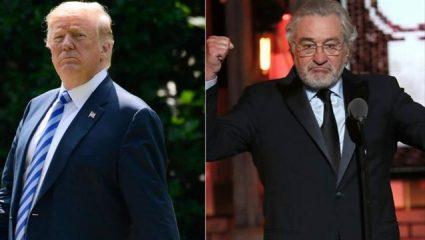 Ντε Νίρο κατά Τραμπ και πάλι: «Ακόμα και οι γκάνγκστερ έχουν τιμή»