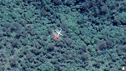 Μυστήριο με την Googl Earth: Γυναίκα υποστηρίζει ότι δείχνει εξαφανισμένη πτήση από το 1980 (ΦΩΤΟ)