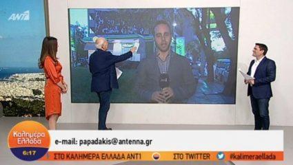 Το πρόβλημα που «ταλαιπώρησε» τον Γιώργο Παπαδάκη… on air (ΒΙΝΤΕΟ)