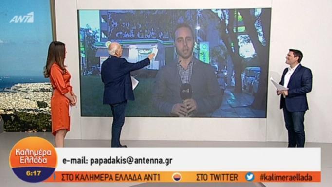Το πρόβλημα που «ταλαιπώρησε» τον Γιώργο Παπαδάκη... on air (ΒΙΝΤΕΟ)