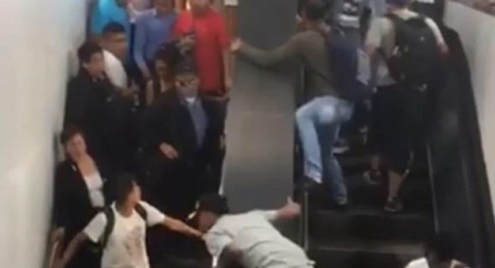 Σοκαριστικό βίντεο στο Μεξικό - Ποδοπατήθηκαν σε κυλιόμενη σκάλα λόγω πολυκοσμίας