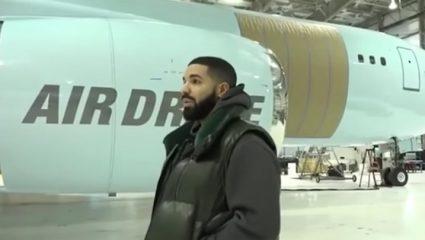 Air Drake: Ο ράπερ παρουσίασε το νέο του ιδιωτικό τζετ