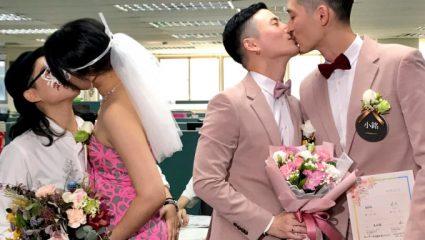 Ιστορική μέρα στην Ταϊβαν: Έγιναν οι πρώτοι γάμοι ομοφυλόφιλων -360 ζευγάρια σε μία μέρα