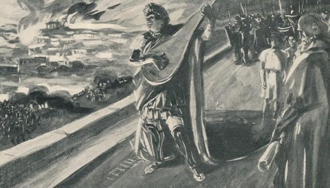 Fake news: Ο Νέρωνας δεν βρισκόταν καν στη Ρώμη όταν κάηκε!