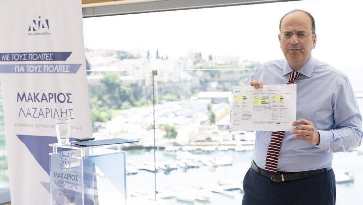 Μακάριος Λαζαρίδης: Μας δείχνει το πόθεν έσχες του πριν μπει στην πολιτική