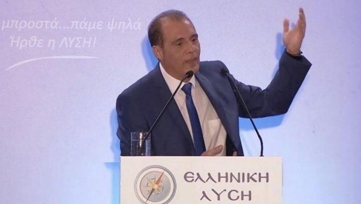 """Καταγγελία Βελόπουλου: """"Ο Μητσοτάκης τρέμει την Ελληνική Λύση"""""""