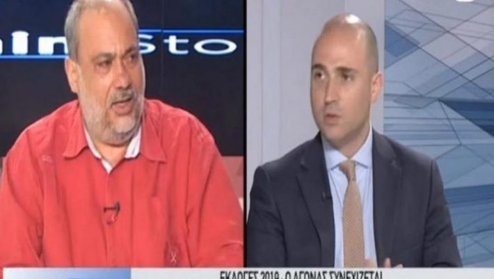 Χάος σε τηλεοπτικό πάνελ! Ρουμελιώτης σε Μπογδάνο: «Θα σου ρίξω κουτουλιά!» (ΒΙΝΤΕΟ)