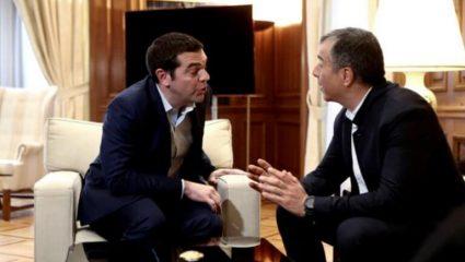 Ο Θεοδωράκης διαψεύδει τον Τσίπρα ότι συζητούσαν για να πάρει τη θέση Καμμένου στην κυβέρνηση