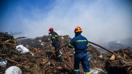 Φωτιά στην Φυλή – Εντοπίστηκε άτομο χωρίς τις αισθήσεις του