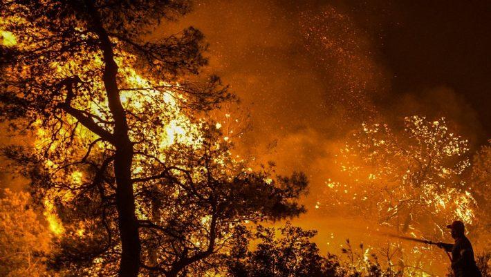 Ο βασικός ύποπτος για την φωτιά στην Εύβοια