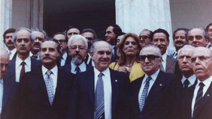 Οταν ο Ανδρέας έγινε για πρώτη φορά πρωθυπουργός (video)