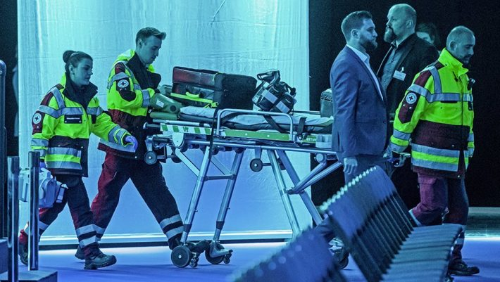 Σοκαριστικό ατύχημα για κορυφαίο υπουργό - Έμεινε αναίσθητος