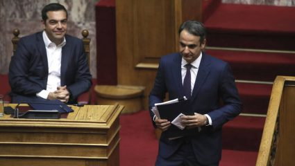 Νέα δημοσκόπηση: η διαφορά ΝΔ-ΣΥΡΙΖΑ, οι δημοφιλέστεροι υπουργοί και το ανησυχητικό ποσοστό της Χρυσής Αυγής
