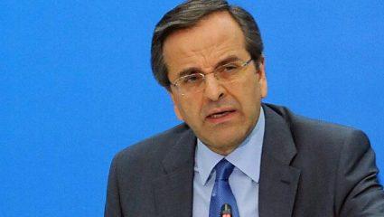 Κρατάει αποστάσεις από την πρόταση Σακελλαροπούλου ο Σαμαράς