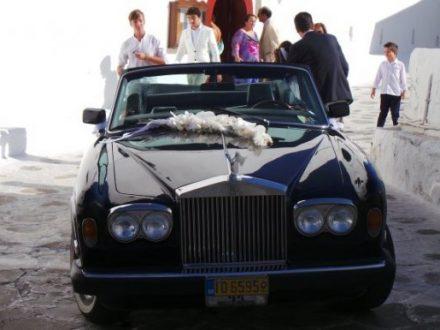 Η βουλευτής που πήγε στο γάμο της με Rolls Royce - ΦΩΤΟ