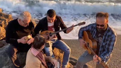 Κρητική μπάντα τρολάρει τον κορωνοϊό – ΒΙΝΤΕΟ