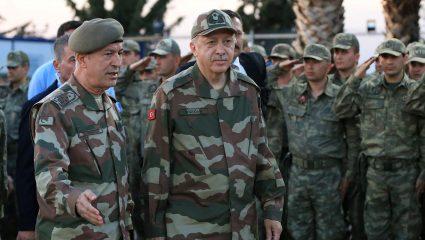 Τον χαβά του ο εύθραστος Σουλτάνος: Διαφημίζει τα στρατεύματά του στην Κύπρο