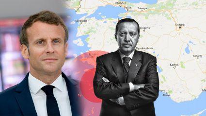 Νέο «χαστούκι» Μακρόν στον Σουλτάνο: Χαίρομαι που σταθήκαμε στο πλευρό της Ελλάδας