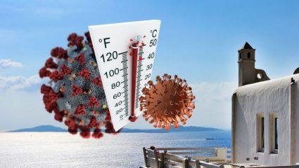 40 βαθμοί 78 κρούσματα: Ο λόγος που η ζέστη δεν νίκησε τελικά τον κορωνοϊό στην Ελλάδα