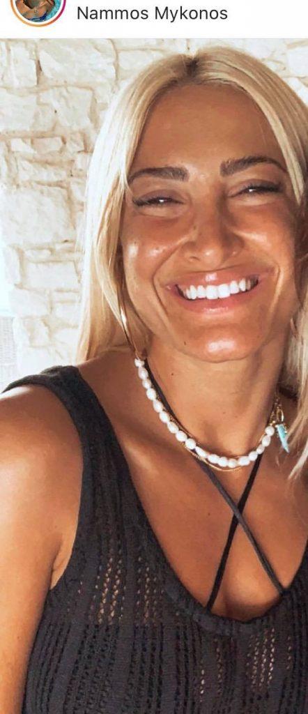 Άλλη γυναίκα: Η νέα φώτο της Τούνη που κυκλοφόρησε από Μύκονο (Pic)