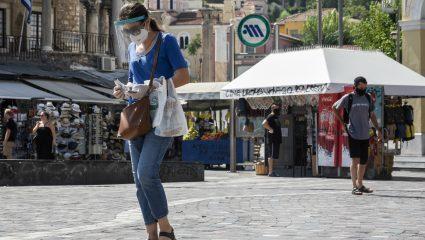 Κορωνοϊός στην Ελλάδα: Ποιες περιοχές της Αττικής είναι στο «κόκκινο»