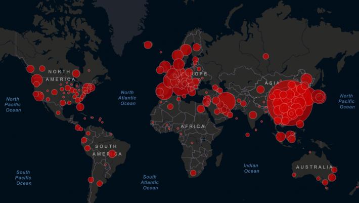 Μάθε τα κρούσματα της περιοχής σου: Η νέα υπηρεσία ενημέρωσης για τον κορωνοϊό