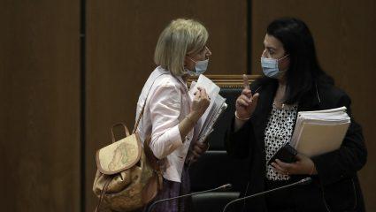 «Εμφύλιος» στο Εφετείο: Η πρόεδρος εναντίον της εισαγγελέα - Όλος ο διάλογος
