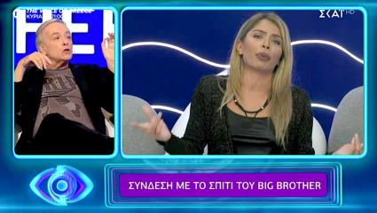 Την δίκασε live: Ο άγριος καυγάς του Μικρούτσικου με τη Δανέζη που εκτόξευσε την τηλεθέαση του Big Brother (Vid)