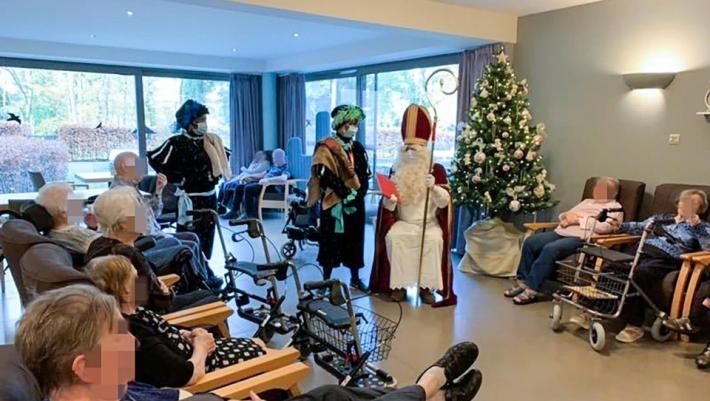 Από την χαρά στον εφιάλτη: Άγιος Βασίλης κόλλησε 75 άτομα σε οίκο ευγηρίας