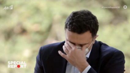 Έσπασε στη συνέντευξη: Το κλάμα του Βασίλη Κικίλια για τους υγειονομικούς